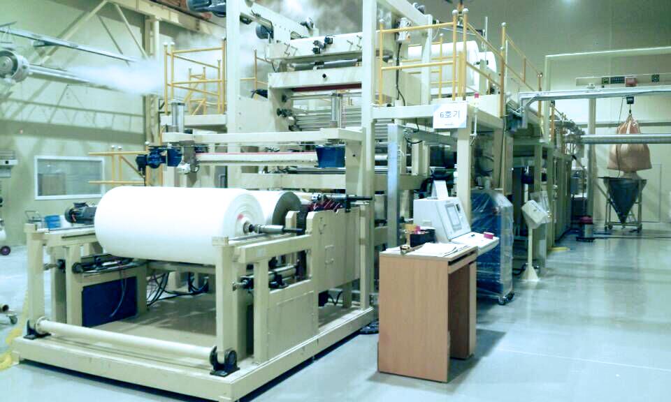 THSAP系列吸水纸(高分子复合纸)生产线