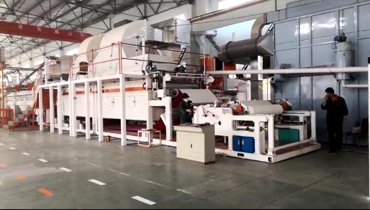 THGZ系列干法纸(无尘纸)生产线